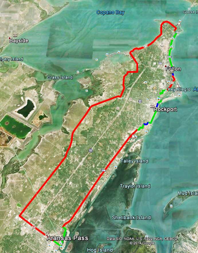 Aransas County Grand Tour Route