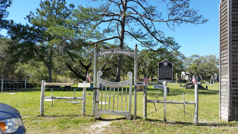 The Lamar Cemetery