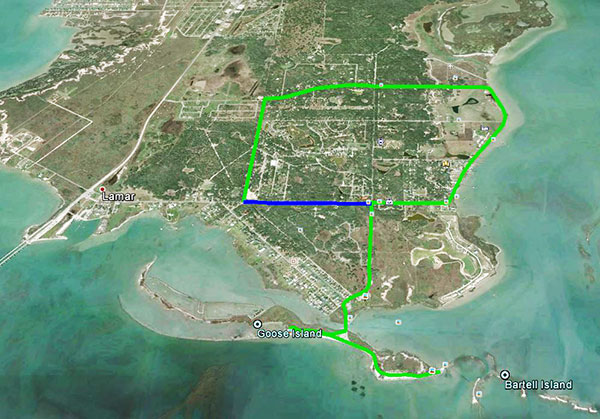 Goose Island Big Tree Route