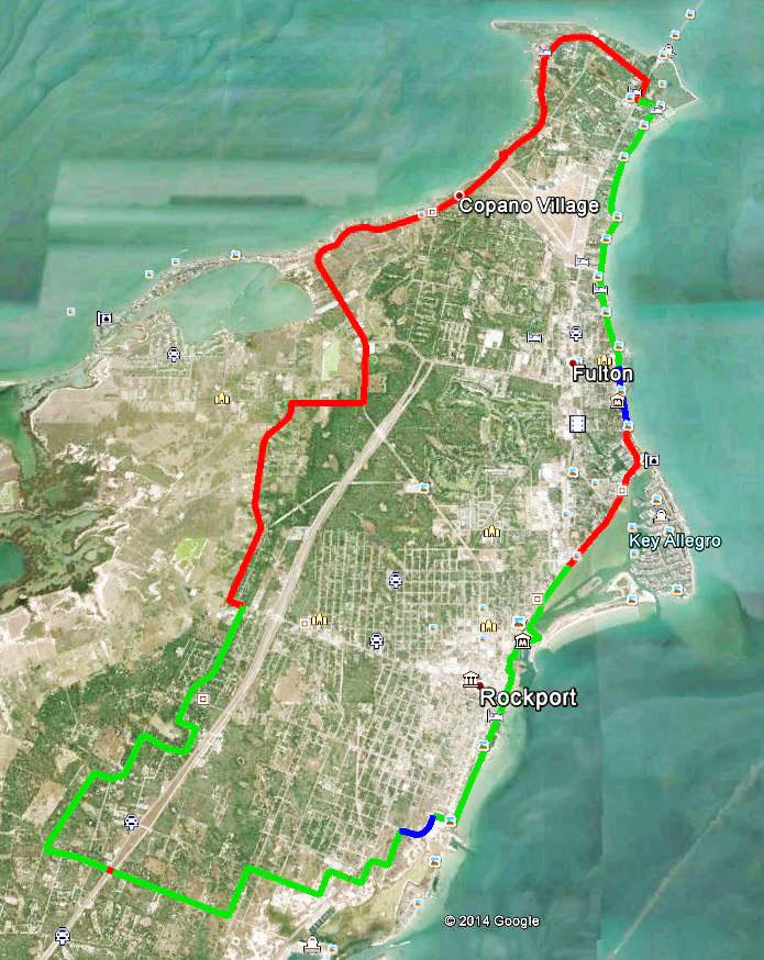 Live Oak Peninsula Route