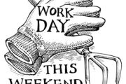 Work Day This Weekend - July 17-18